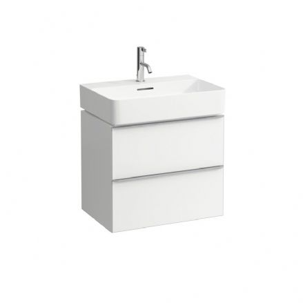 810283 - Laufen Val 600m x 420mm Washbasin & Space Vanity Unit - 8.1028.3